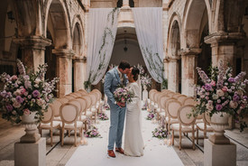 Luxury Dubrovnik Sponza Wedding Neptun D