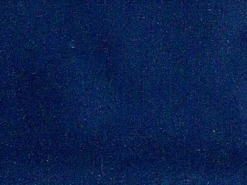 Maske dunkelblau / royalblau uni ( ideal für Bestickung )