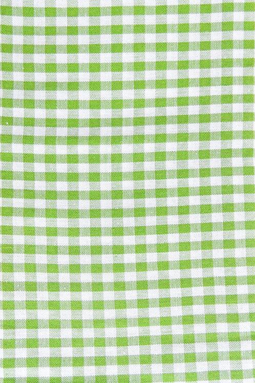 Karo Apfelgrün-weiß