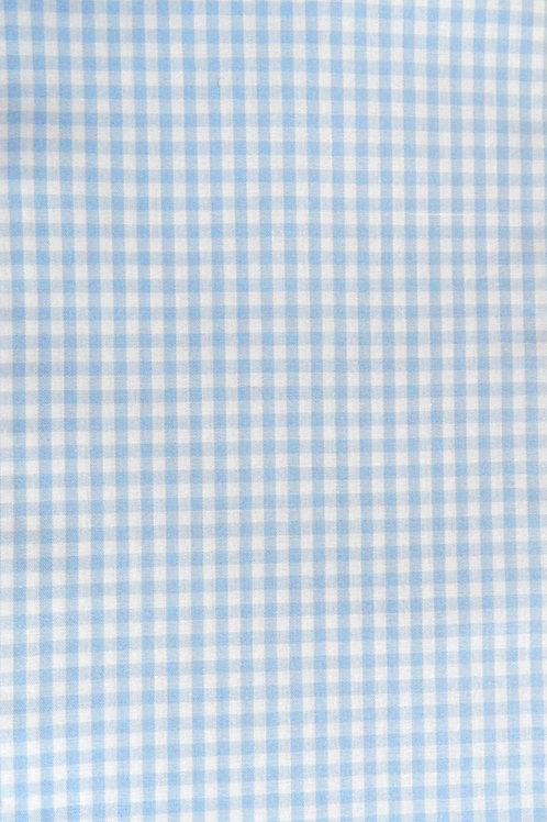 Karo hellblau-weiß