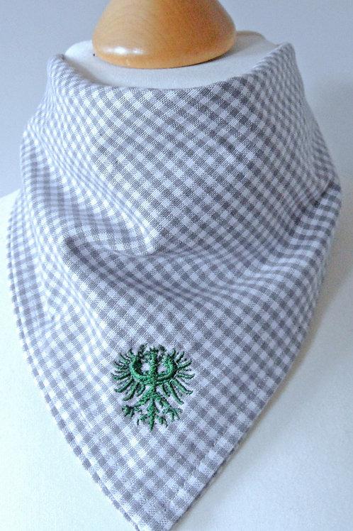 Adler-Stickerei für Halstuch oder Loop-Schal