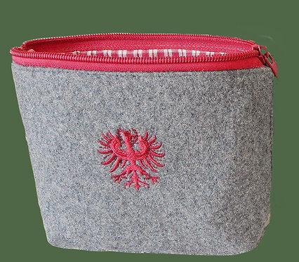 """Utensilien-Tasche mit Stickerei """"Adler"""""""