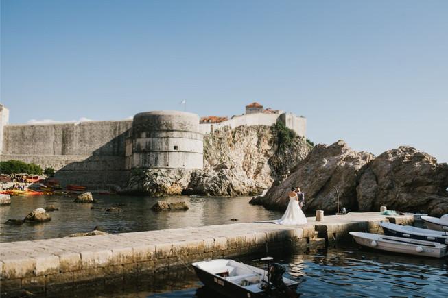 Lovrijenac Fortress Wedding Dubrovnik7.j