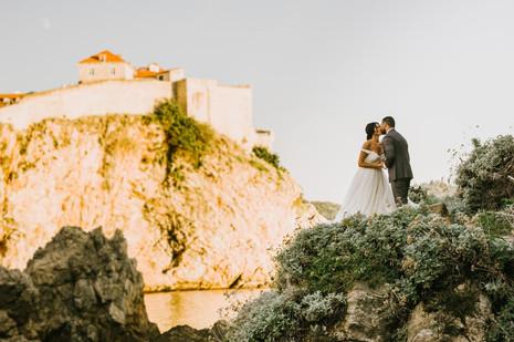 Lovrijenac Fortress Wedding Dubrovnik71.