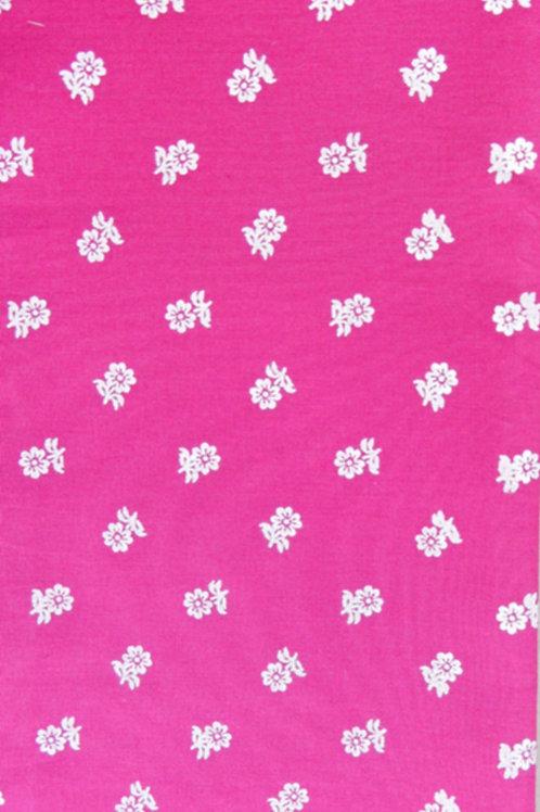 pink, weiß bedruckt