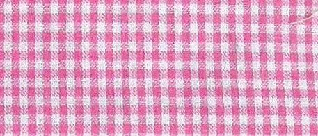 Maske Karo pink-weiß (ideal für Bestickung )