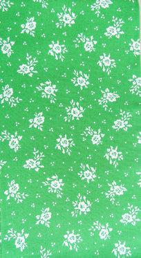 hellgrün, weiß bedruckt