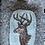 "Thumbnail: Handy-Tasche mit Stickerei-Emblem ""Rehbock"""