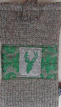 Handy-Tasche edel, grün