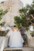 Lovrijenac Fortress Wedding Dubrovnik9.j