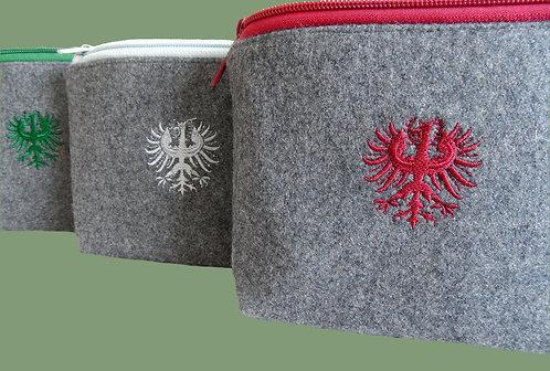 """Kosmetik-Tasche mit Stickerei """"Adler"""""""