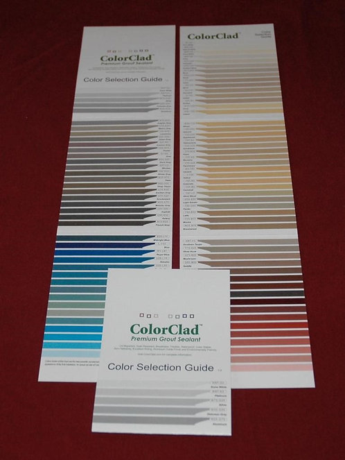 samples of actual ColorClad®