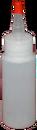 Translucent2oz HDPE bottlewith Yorker 24mm cap