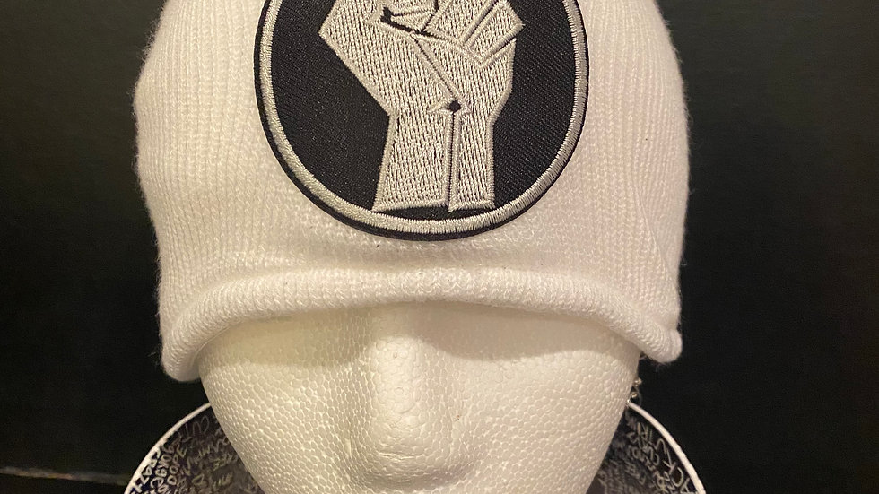 BLM Power Fist Knitted Hat