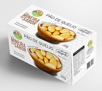 Caixa de pão de queijo 400g