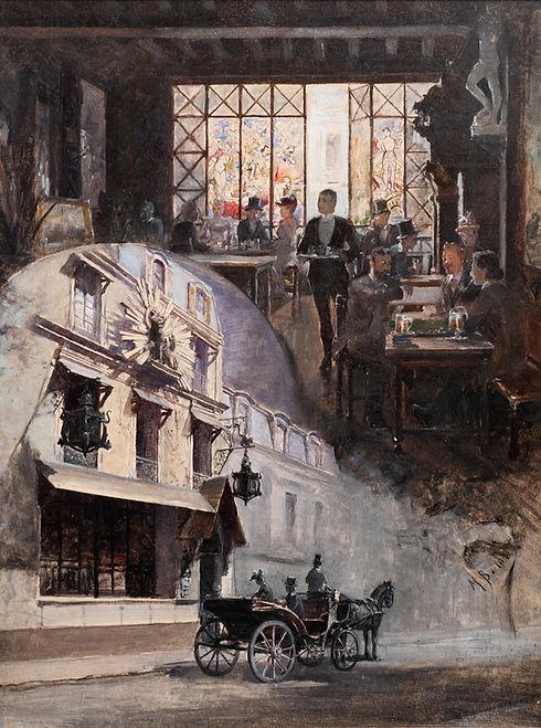 5.BALDA M. - Le Cabaret du Chat Noir col