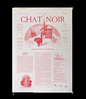 DECEMBRE n°28 Journal Le Chat Noir