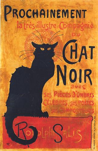 Affiche Chat Noir Steinlen
