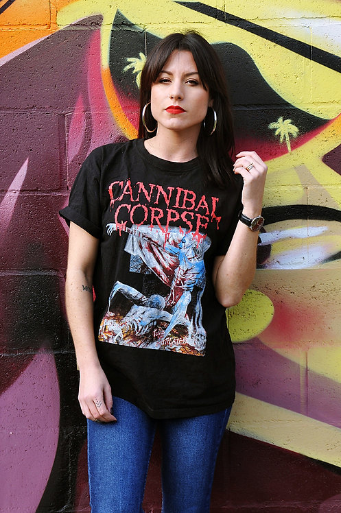 T-shirt de groupe Cannibal Corpse Tomb of the Mutilated