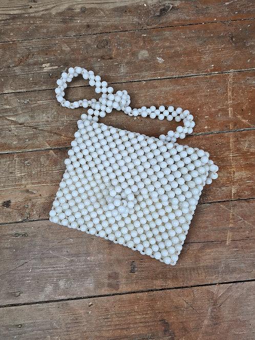 Petit sac en perles 70's