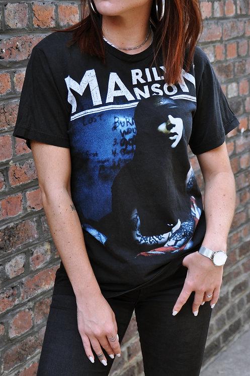 T-shirt Marilyn Manson 00's