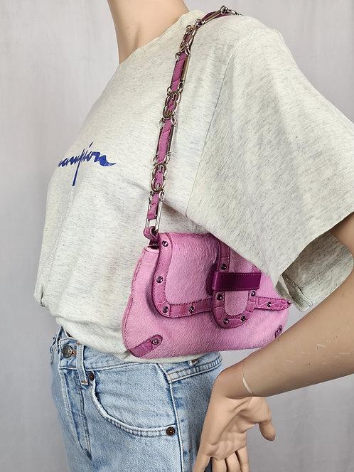 Petit sac à main rose Escada 00's