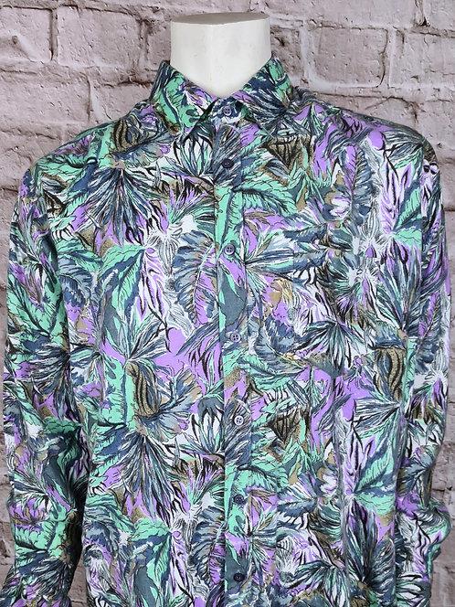 Chemise florale 90's