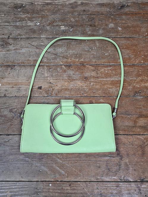 Petite pochette vert pastel 90's