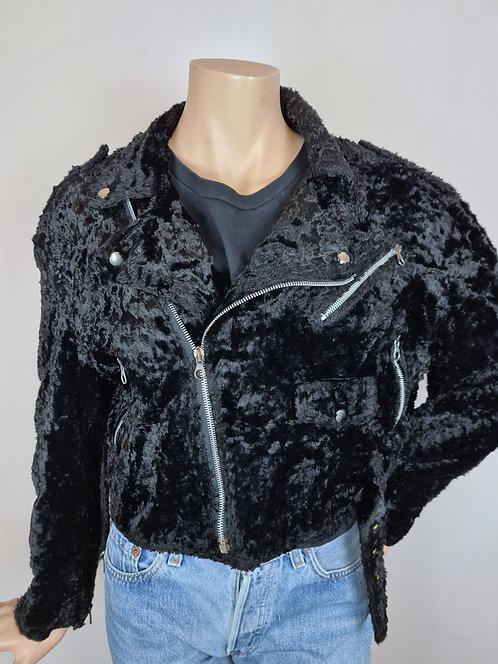 Perfecto faux fur 80's