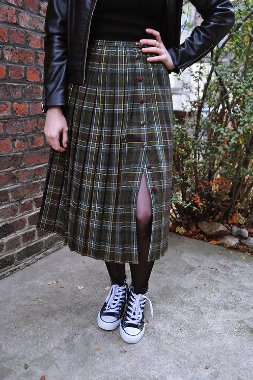 Jupe type écossaise 90's
