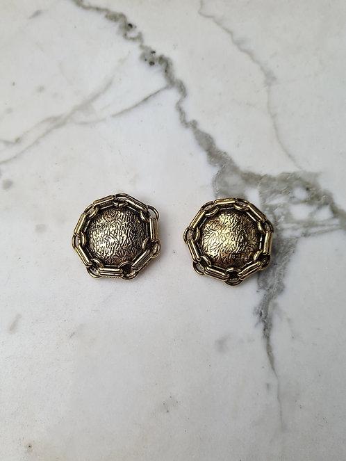 Boucles d'oreilles SHIELD 80'S