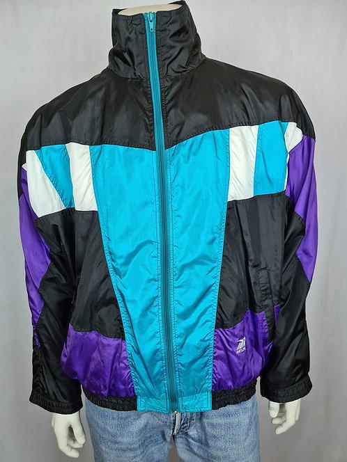 Veste de survêtement quadricolore 80's