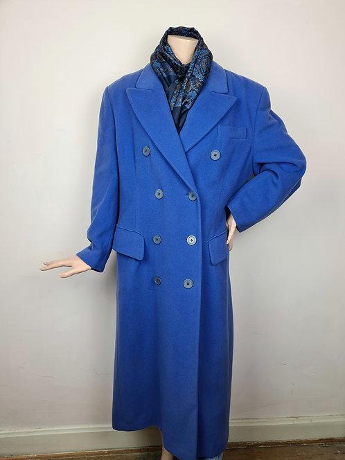 Manteau bleu indigo 80/90's