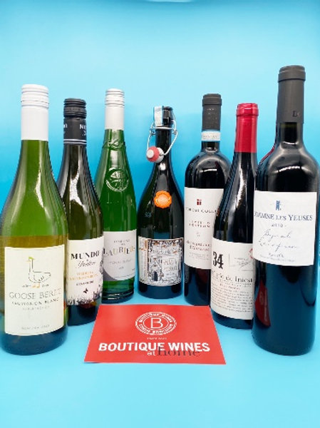 Boutique Wines - 6 Favourites chosen by Avril Kirrane McMorrough + Prosecco !!