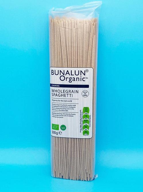 Bunalun Organic Wholegrain Spaghetti☘️  🧡