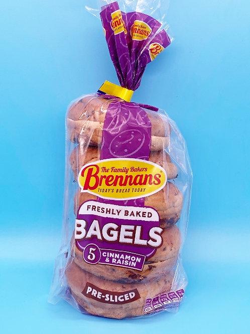 Brennans Cinnamon & Raisin Bagels☘️  🧡