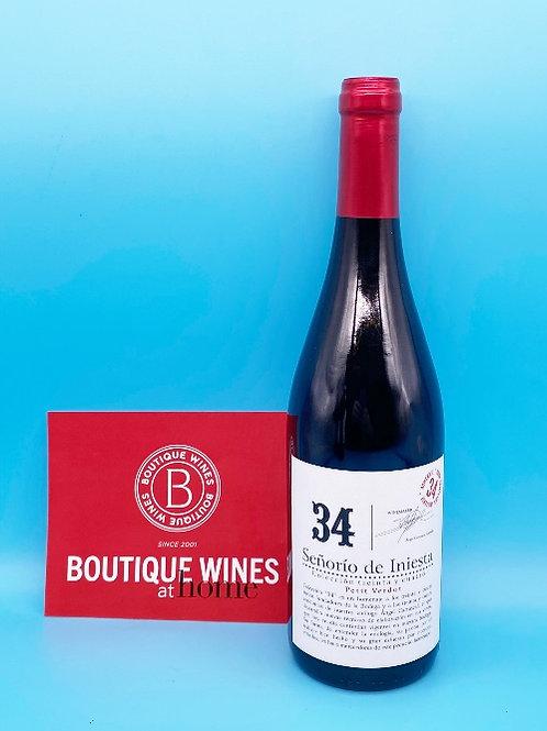 Bodegas Senorio de Iniesta, Collecion 34.  6 Bottles