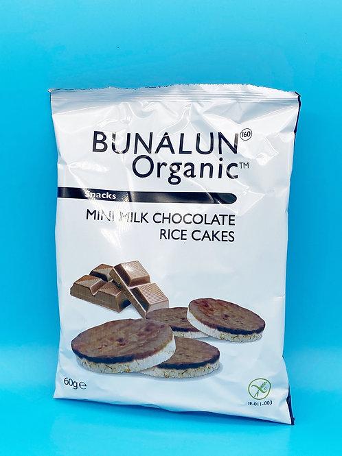 Bunalun Organic Mini Chocolate Rice Cakes☘️  🧡