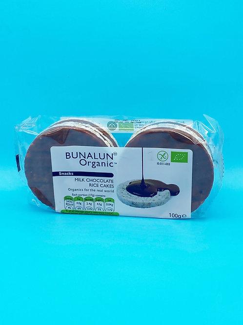 Bunalun Organic Milk Chocolate Rice Cakes☘️  🧡