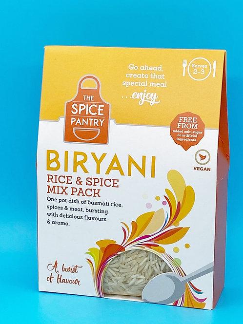 The Spice Pantry Biryani Rice & Spice Mix Pack ☘️  🧡