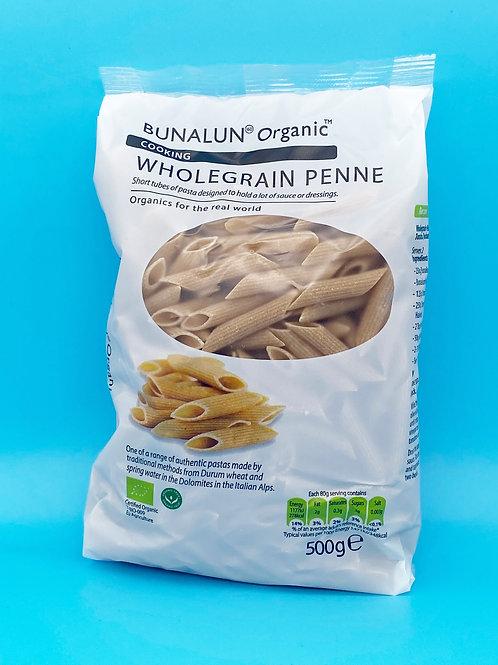 Bunalun Organic Wholegrain Penne☘️  🧡