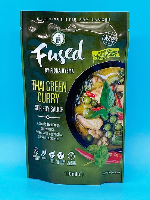 Fused by Fiona Thai Green Curry Stir Fry Sauce☘️  🧡
