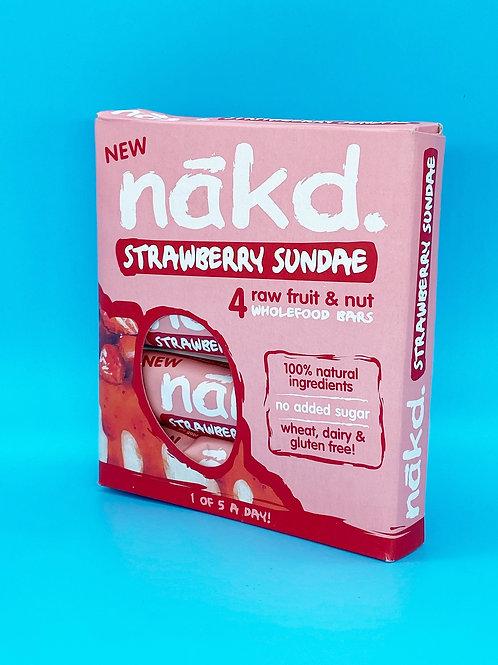Nakd Strawberry Sundae Bars