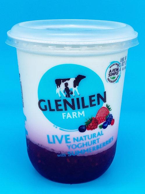 Glenilen Farm Natural Yogurt Summer Berries☘️  🧡