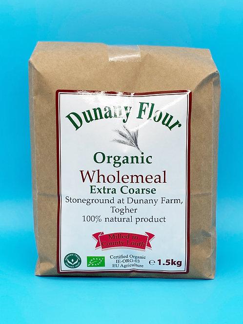 Dunany Organic Wholemeal Flour Extra Course☘️  🧡