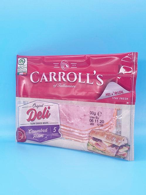 Carrolls Deli Crumbed Ham☘️  🧡
