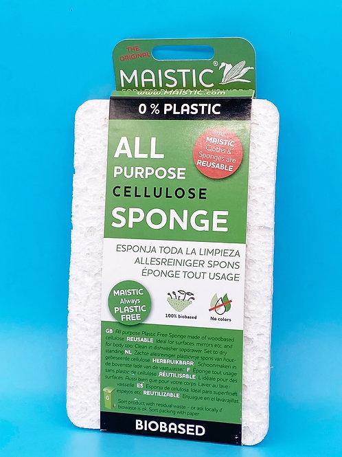 Maistic All Purpose Sponge Plastic Free