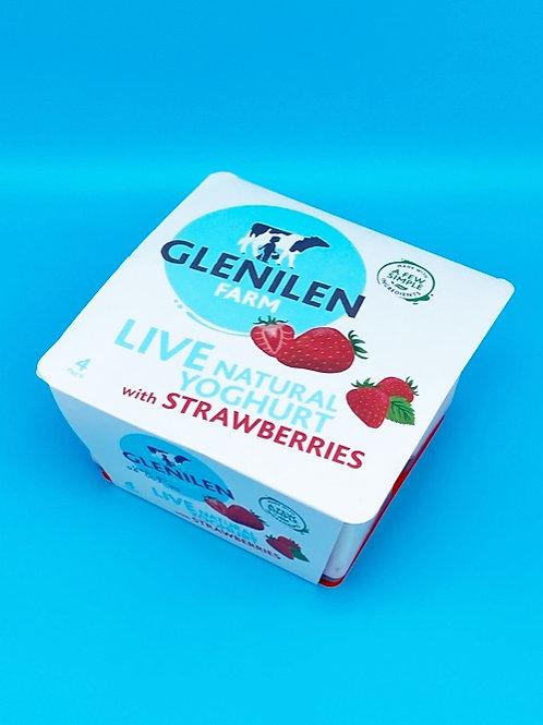 Glenilen Farm 4 pack Strawberry☘️  🧡