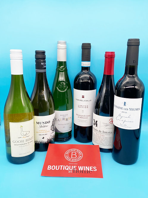 Boutique Wines - 6 Favourites chosen by Avril Kirrane McMorrough