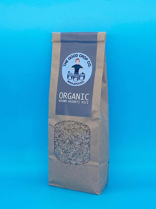 The Good Crop Co. Organic Brown Basmati Rice ☘️  🧡